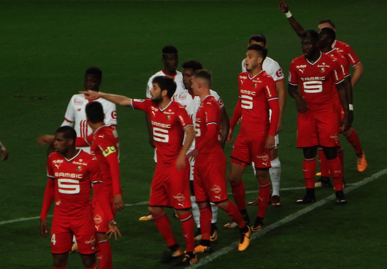 Christian Gourcuff dirige l'entraînement et René Ruello présent — Stade Rennais