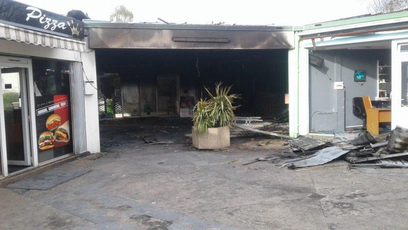 incendie au centre commercial le ras le bol du blosne