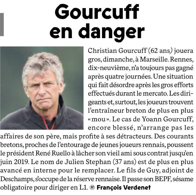 Mercato - Rennes : L'énorme coup de gueule de Gourcuff sur son avenir !