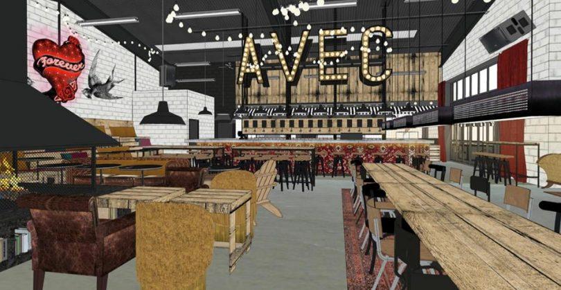 avec restaurant un nouveau lieu tendance rennes infos autrement. Black Bedroom Furniture Sets. Home Design Ideas