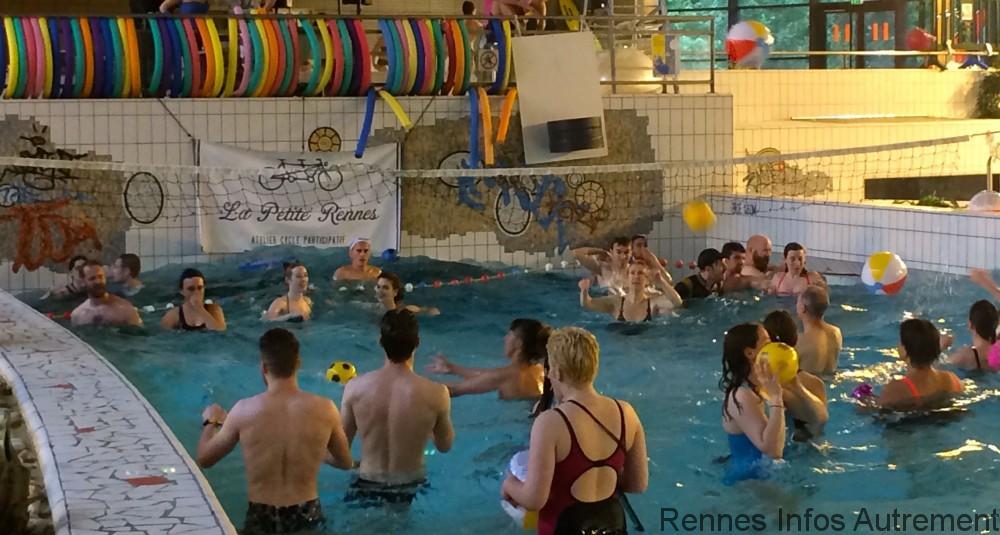Petit matin festif a la piscine des gayeulles rennes for Piscine des gayeulles